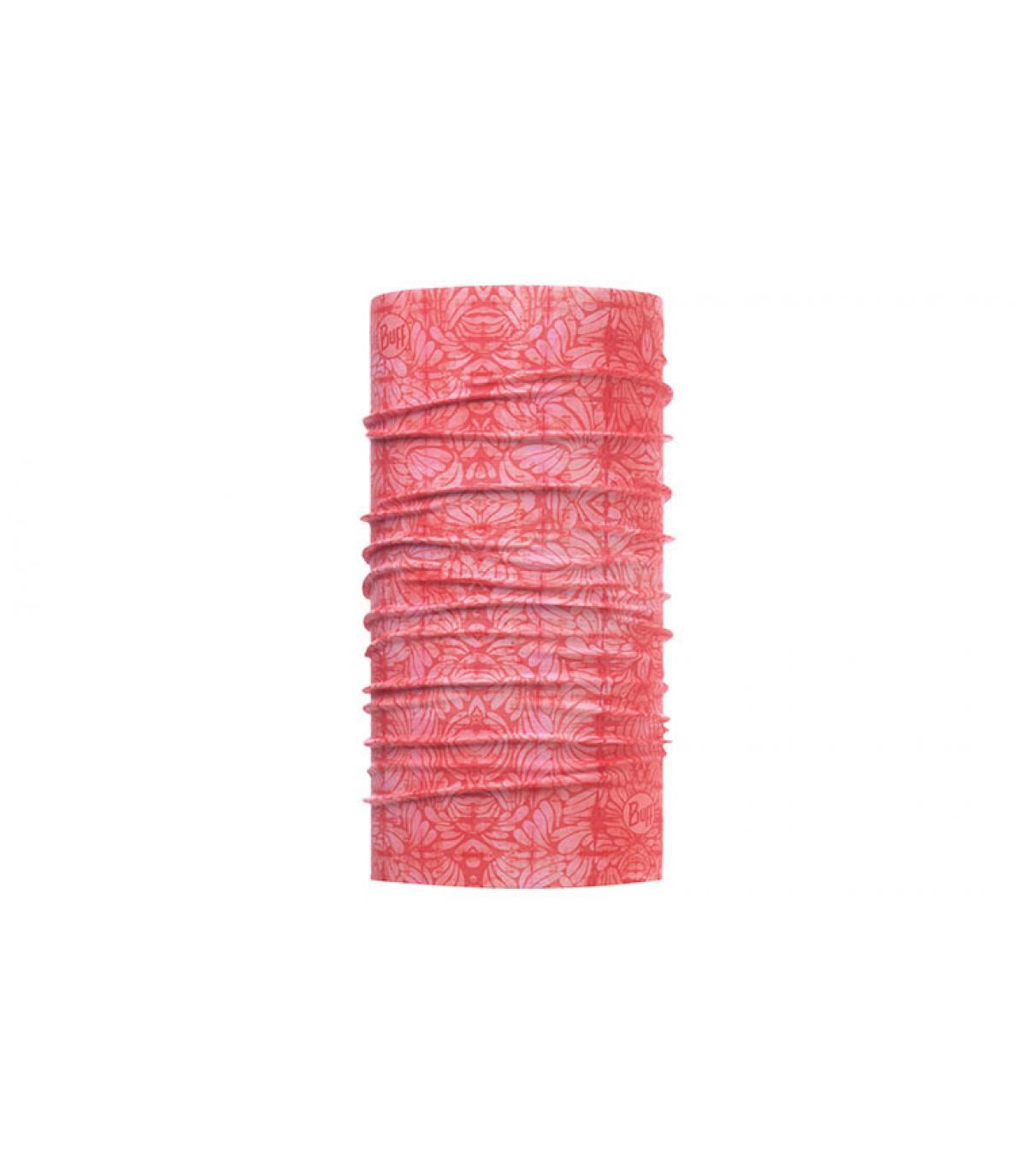 Buff bedruckt rosa