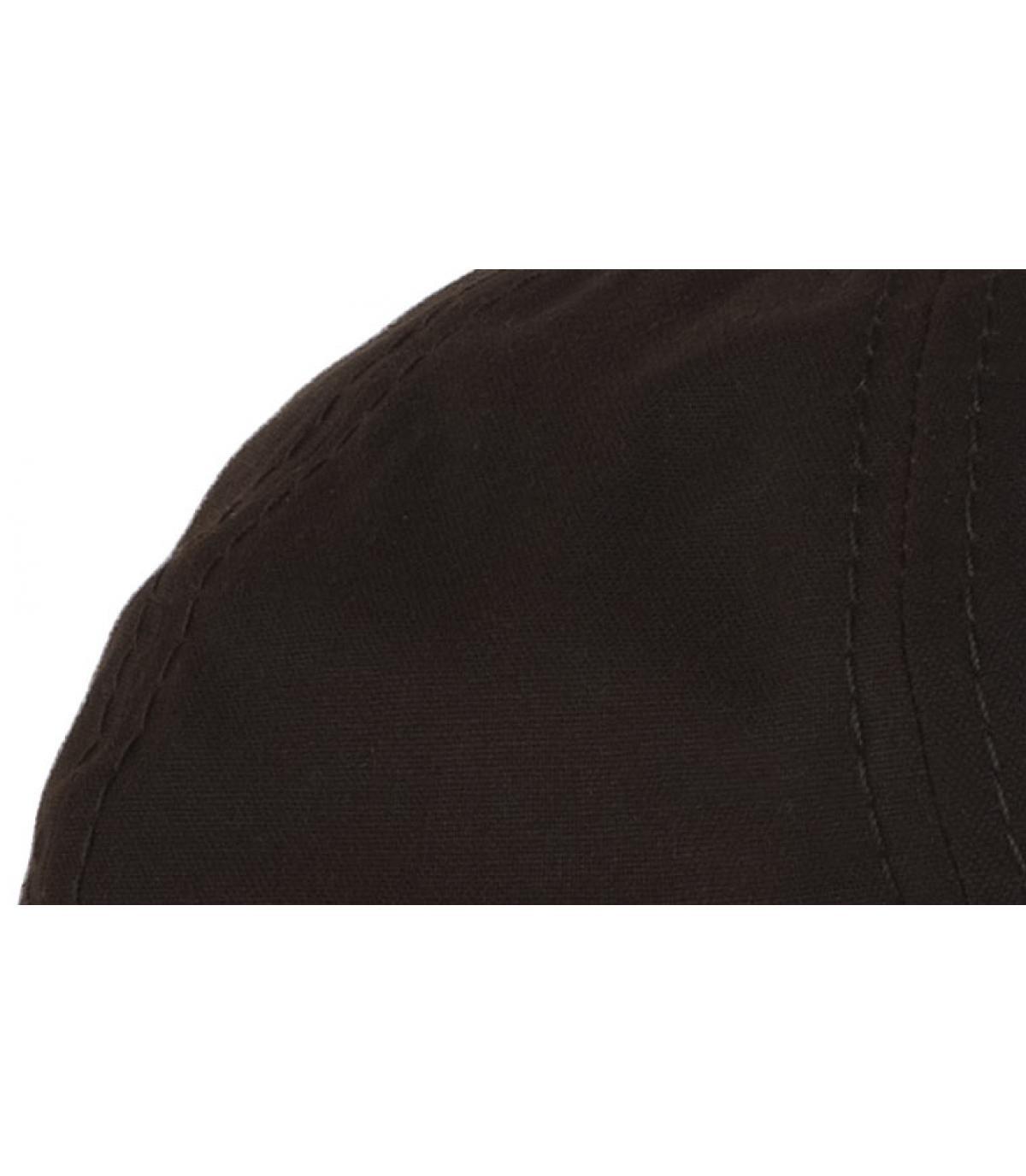 Details Braune Hatteras aus gewachster Baumwolle  - Abbildung 2