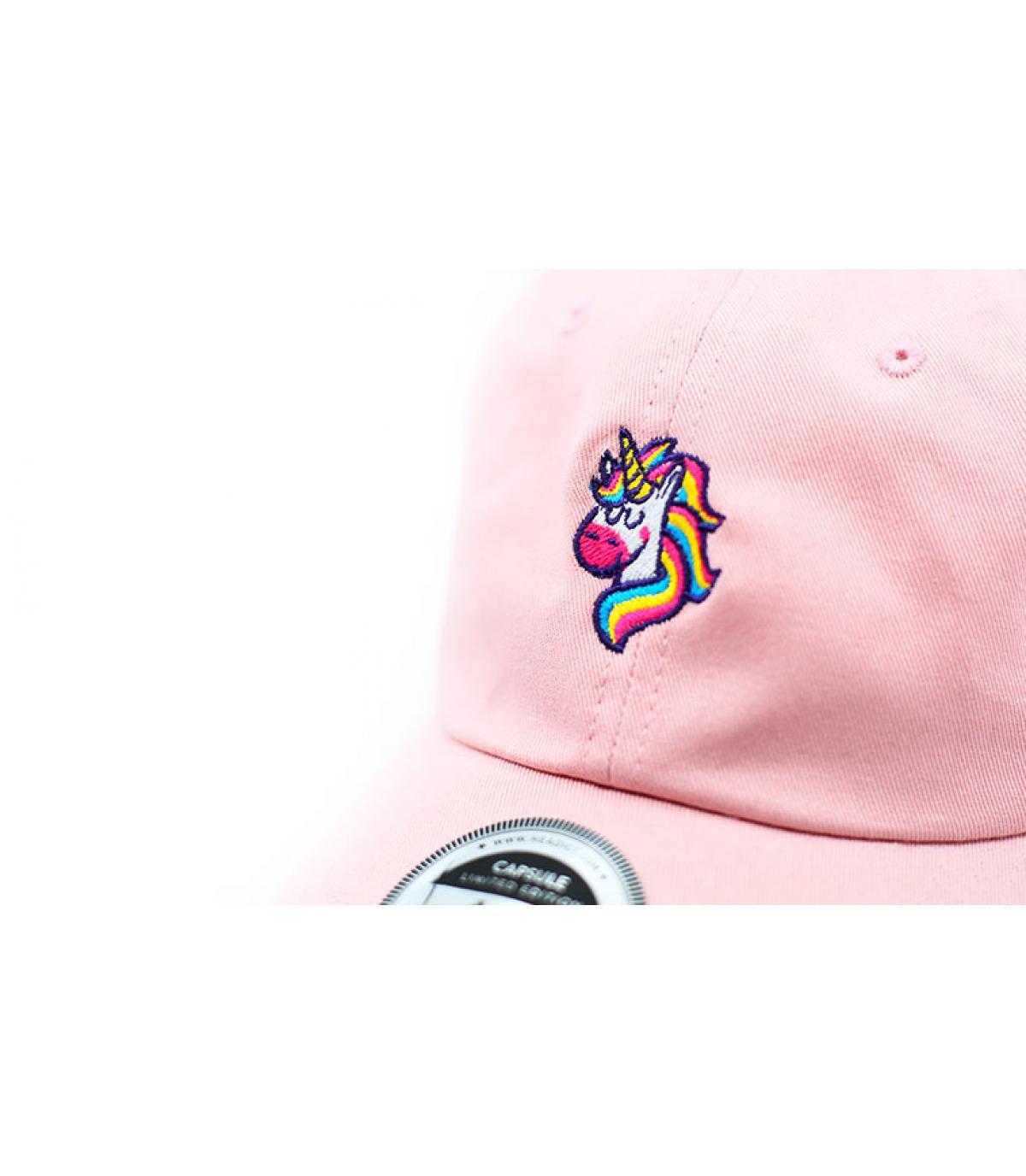 Details Cap Unicorns Are Real pink - Abbildung 3