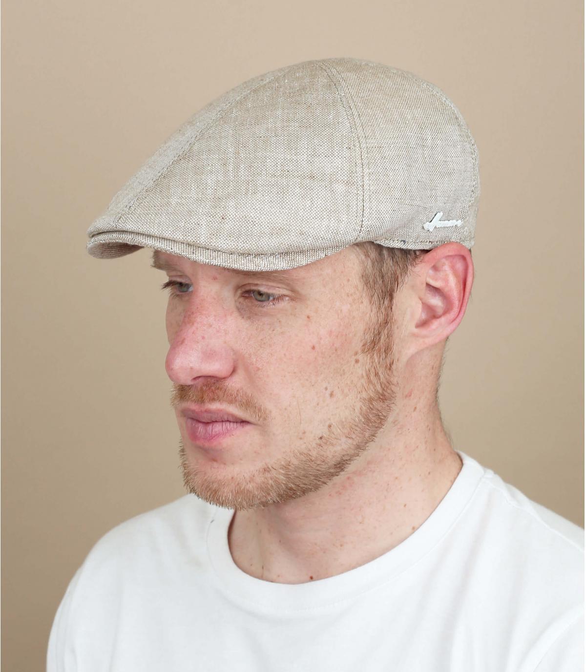 Cap Leinen beige Herman