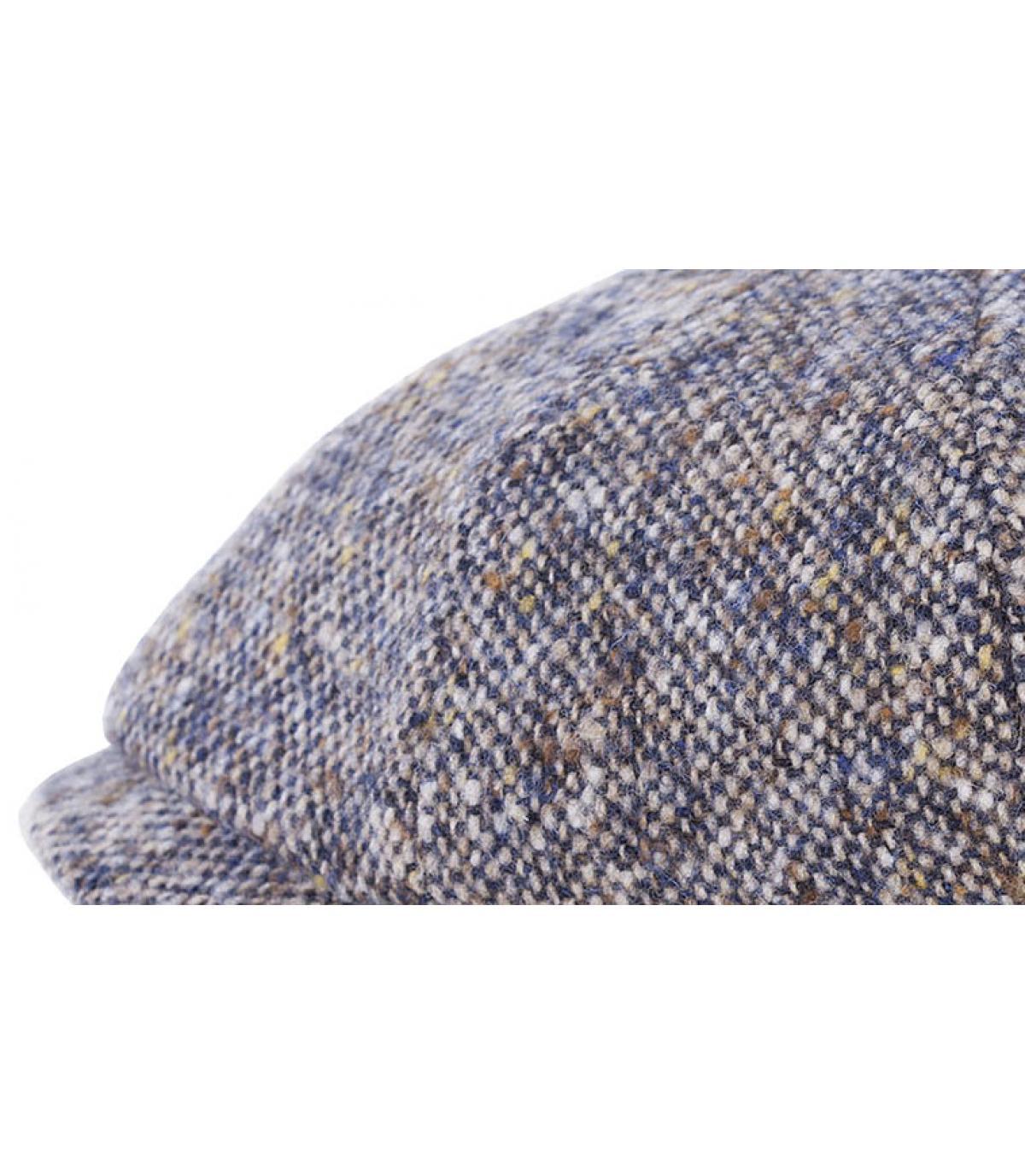 Details Hatteras Fischgrät Wolle blau - Abbildung 2