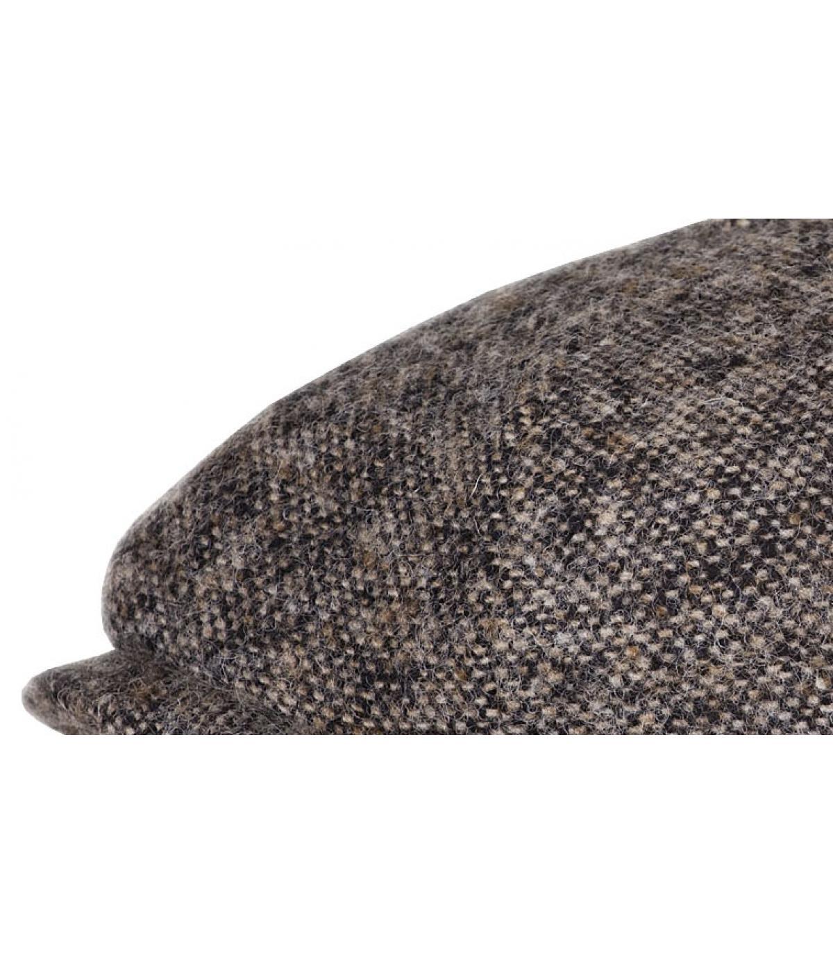 Details Braune Hatteras Donegal aus Wolle  - Abbildung 2