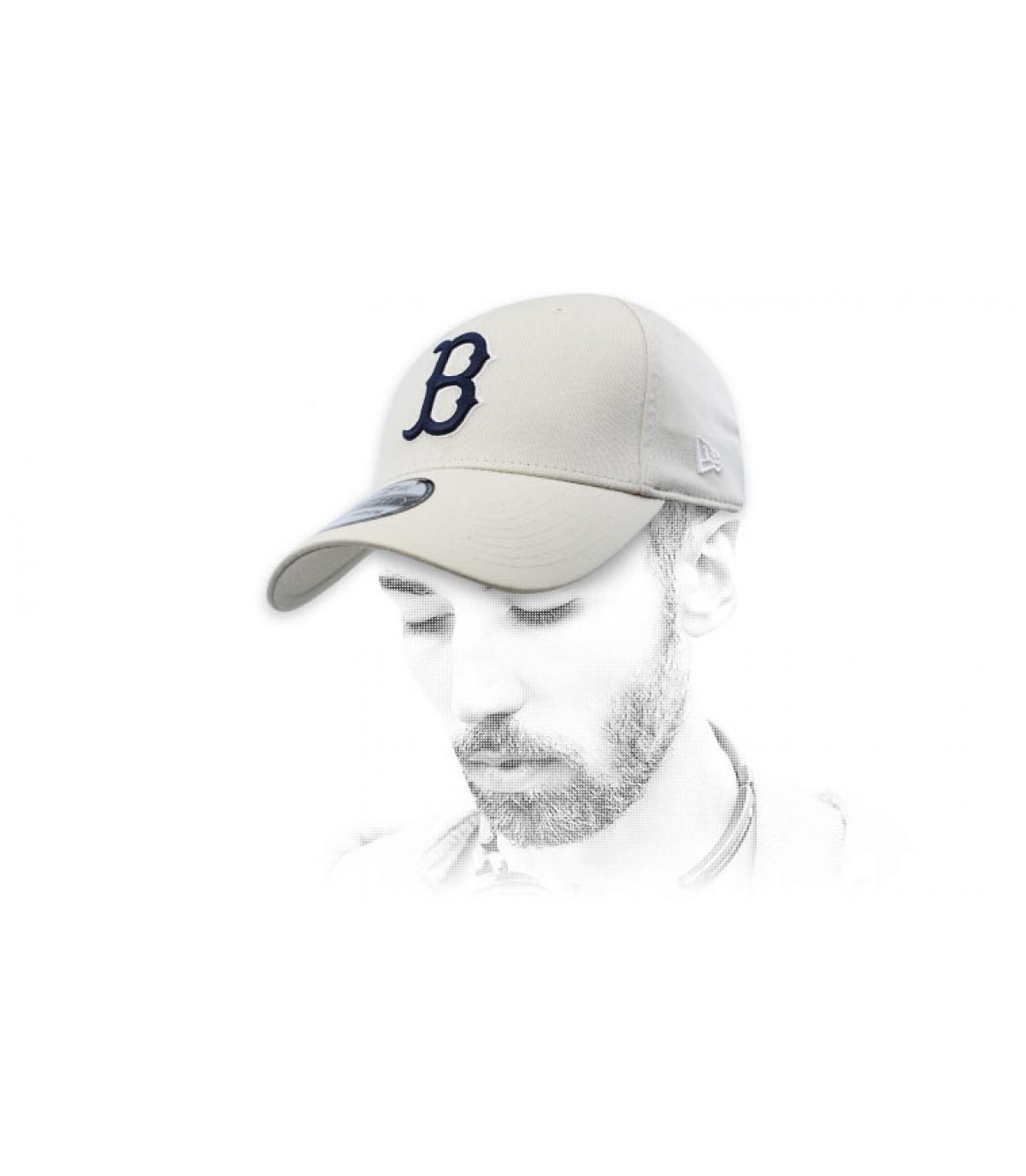 Cap B beige
