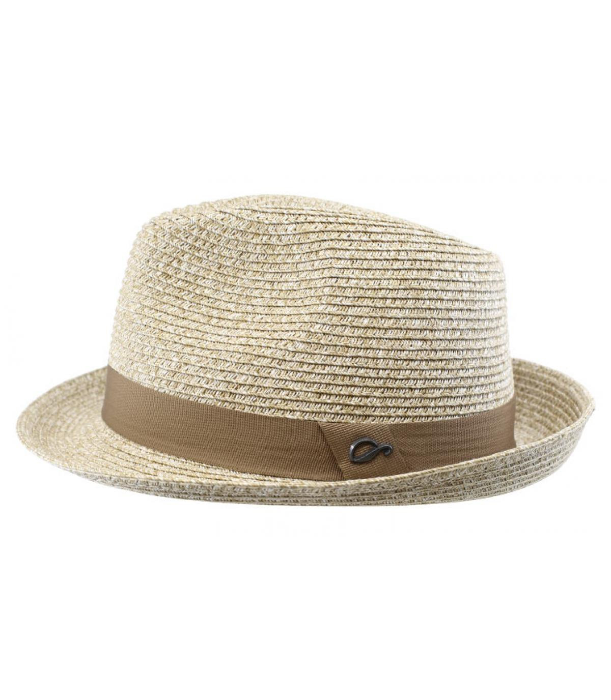 Trilby beige Stroh Hutband