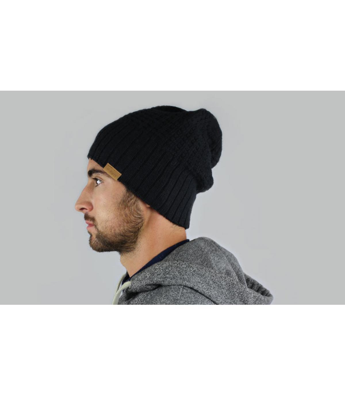 Mütze hudson schwarz