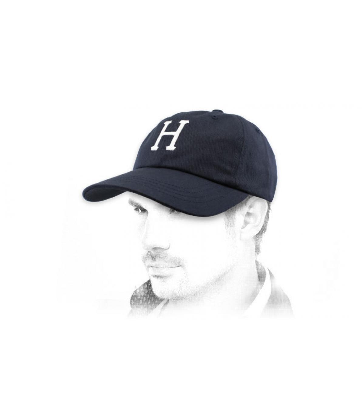 Cap Huf marineblau