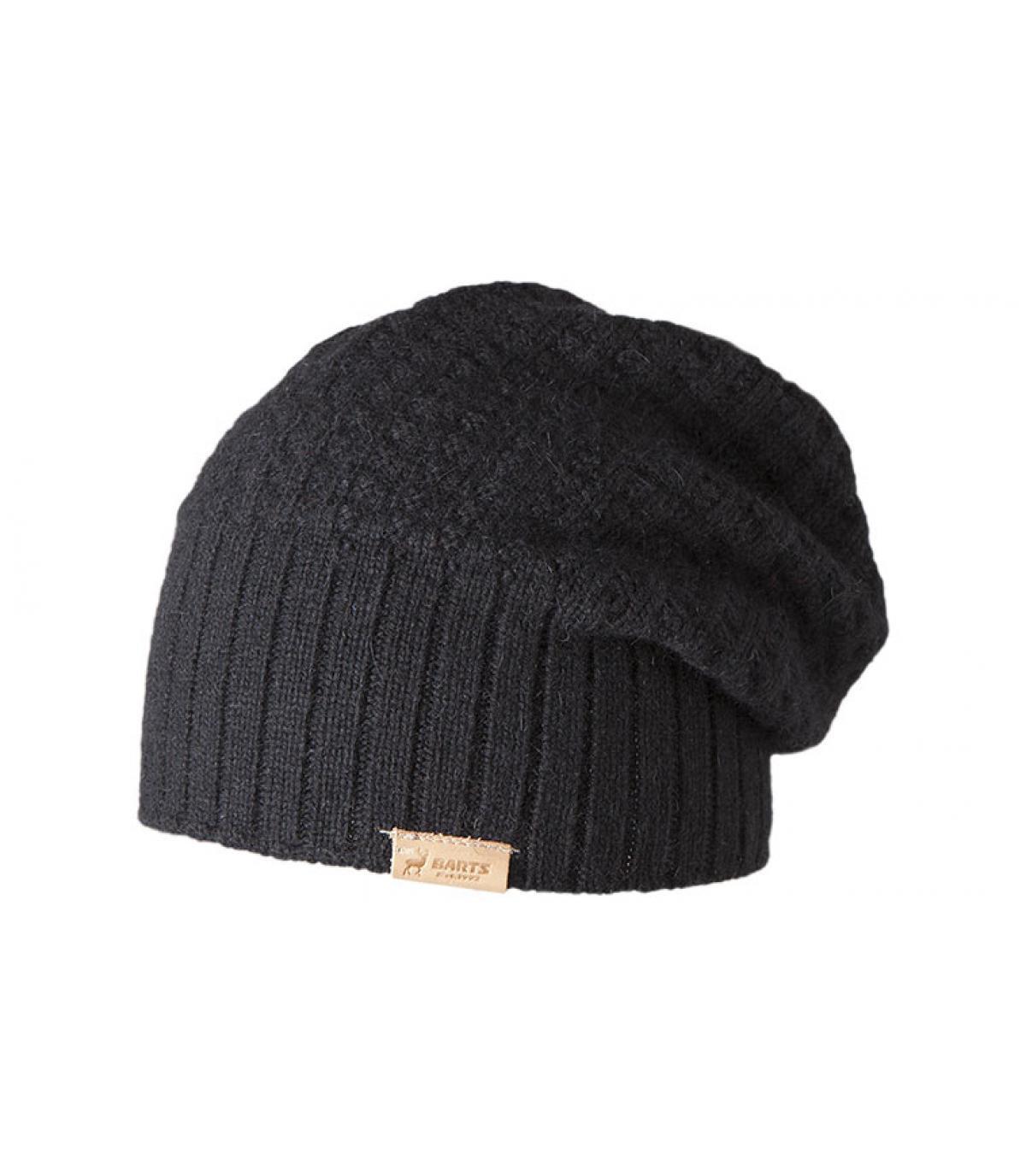 Details Schwarze Mütze Hudson  - Abbildung 3