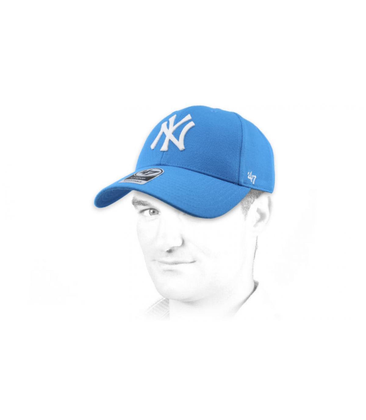 Cap NY türkis47