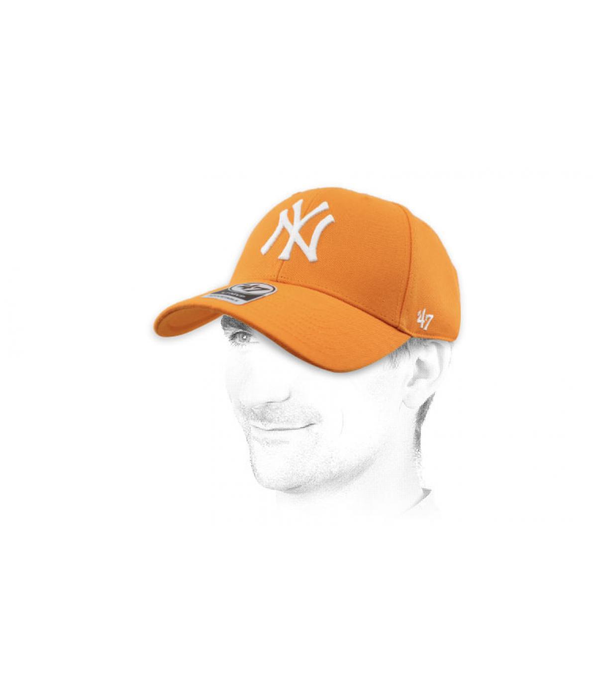 Cap NY orange47