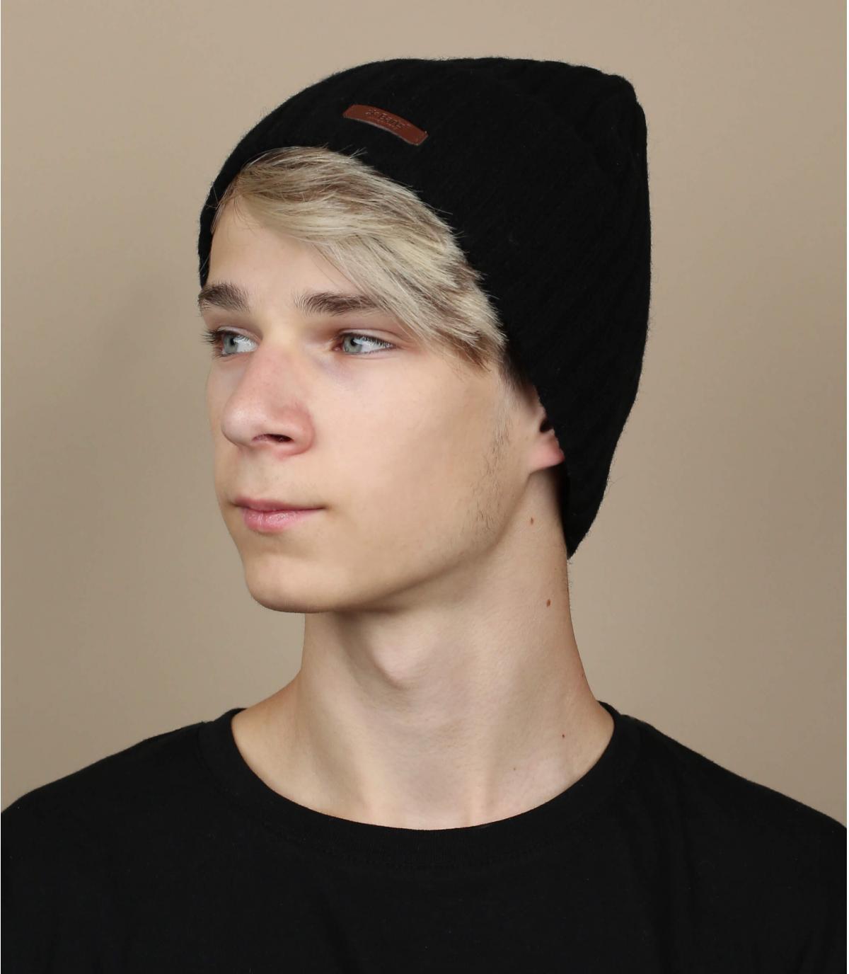 Mütze haakon schwarz