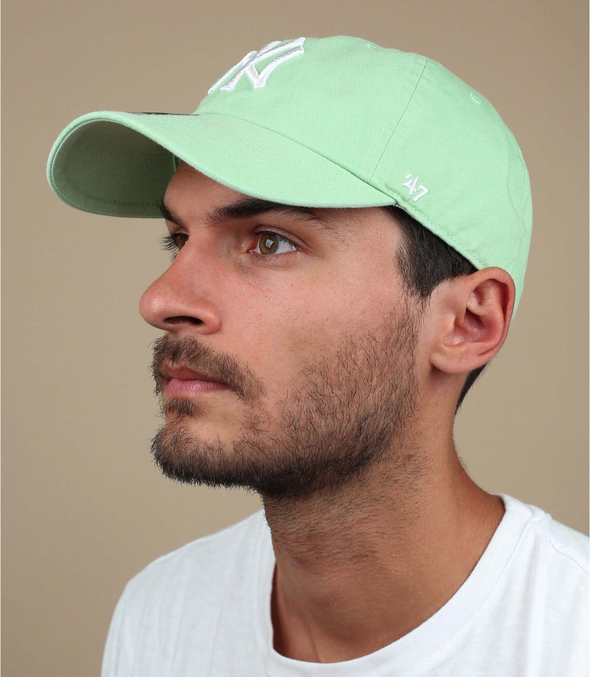 Cap NY blassgrün