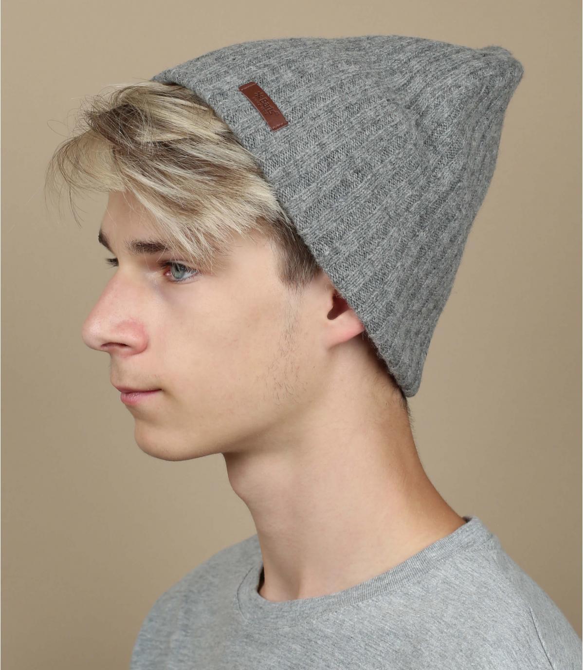 Mütze haakon grau