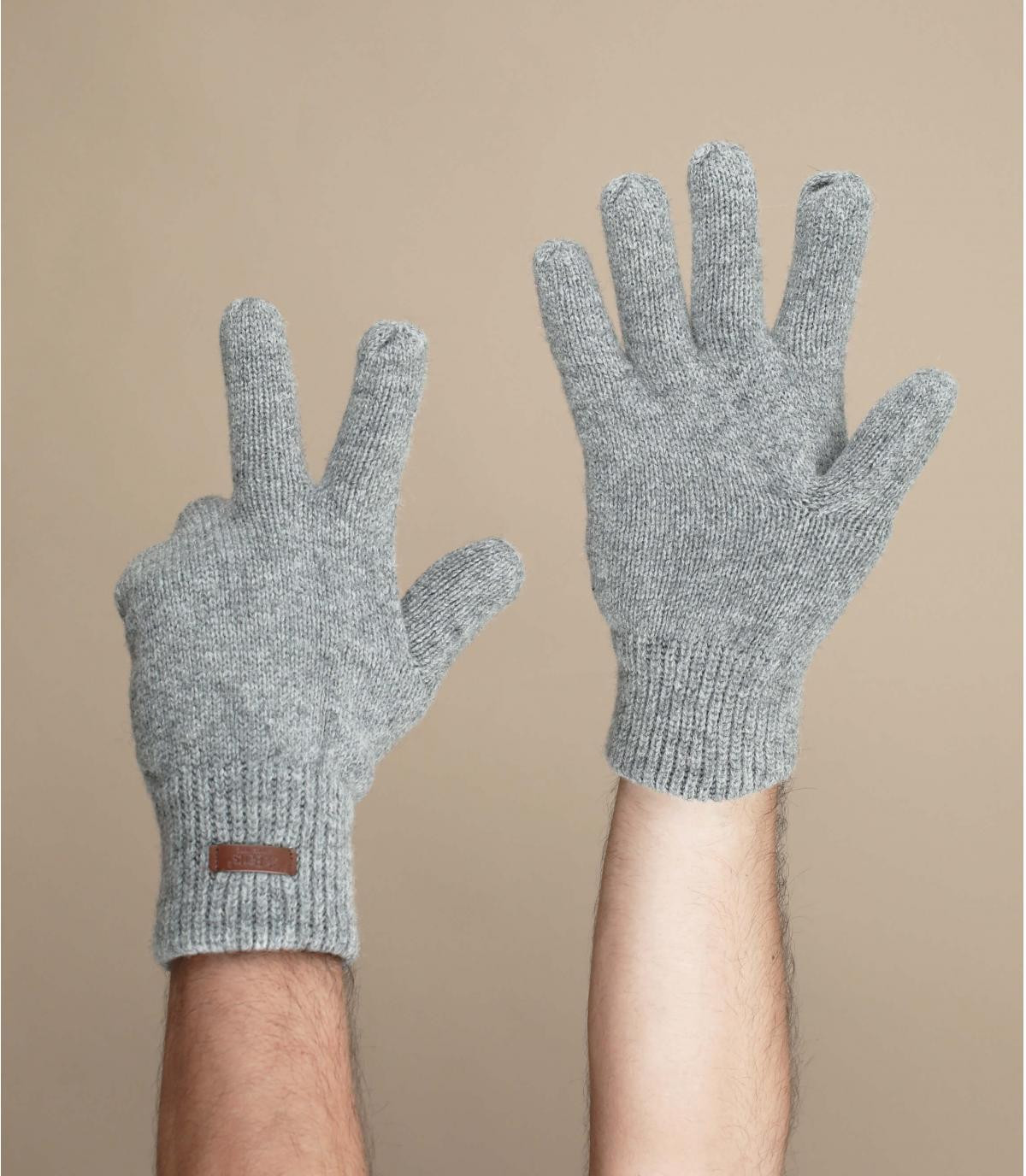 Handschuhe haakon grau
