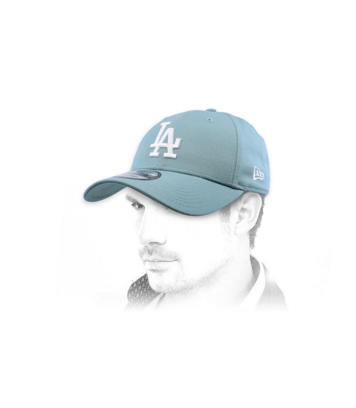 Cap LA blau