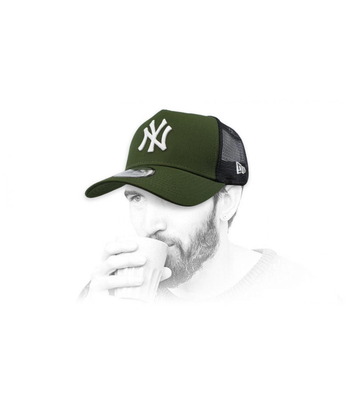 Trucker NY grün