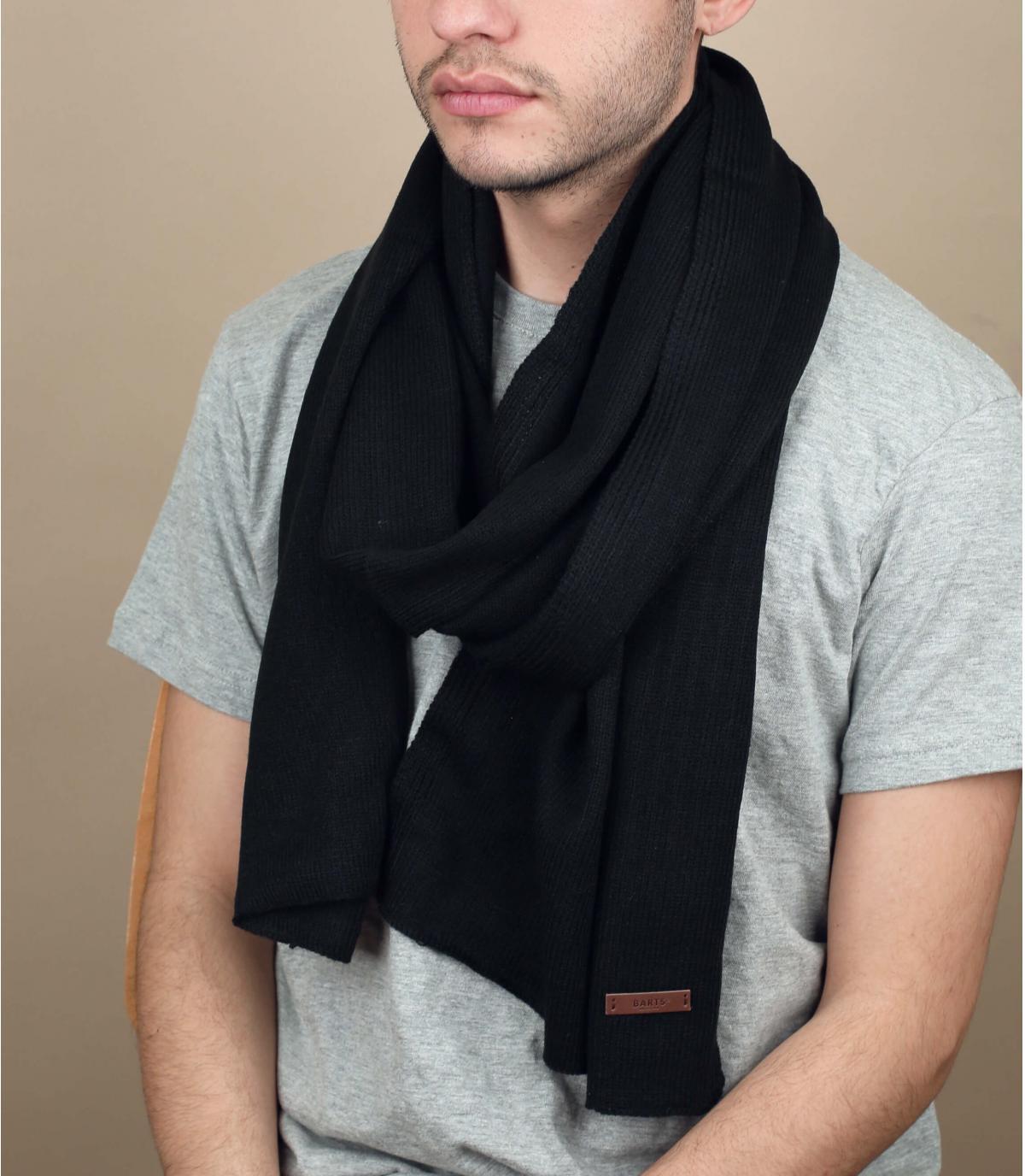 Schal james schwarz