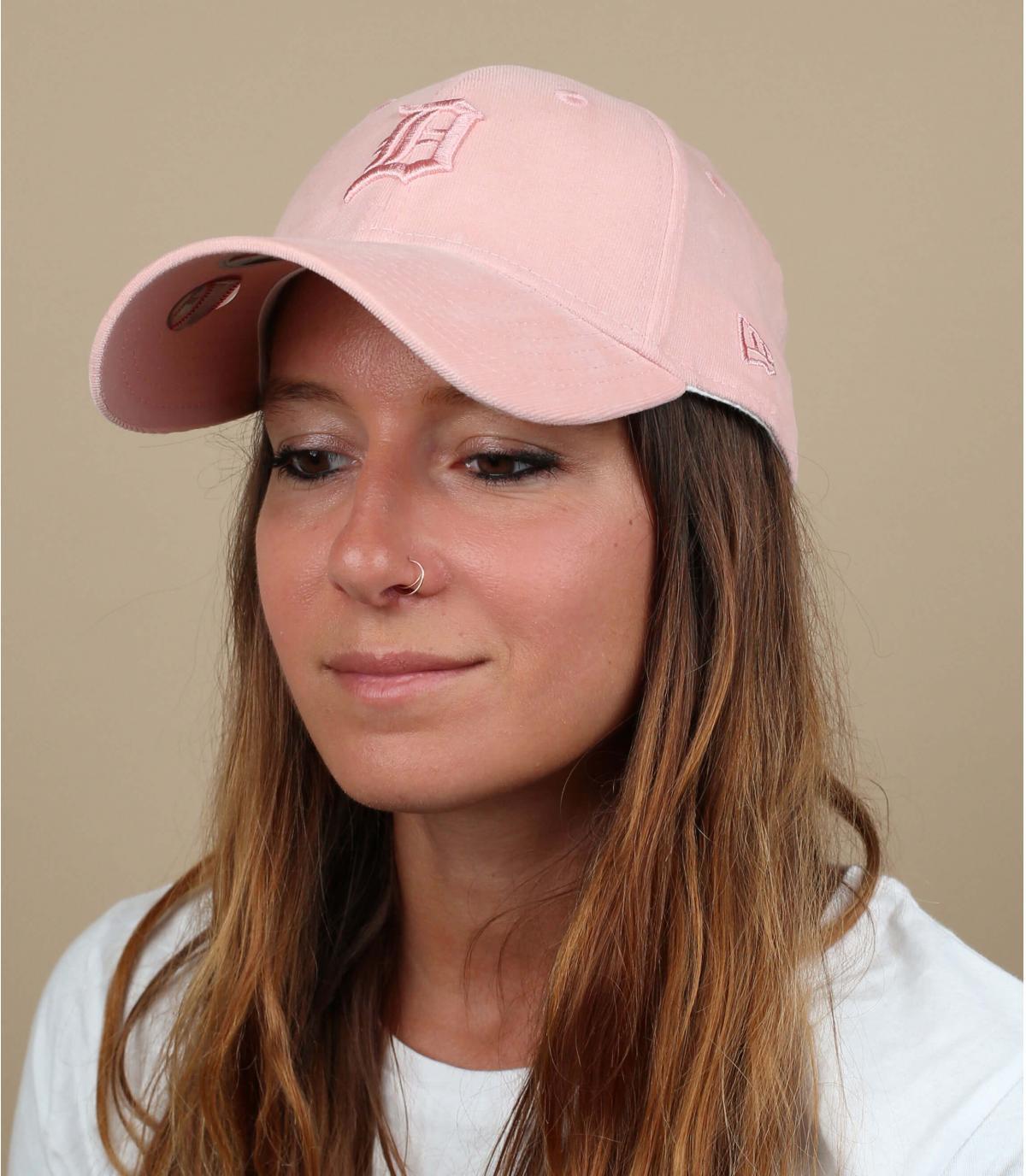 Damen Cap Detroit rosa