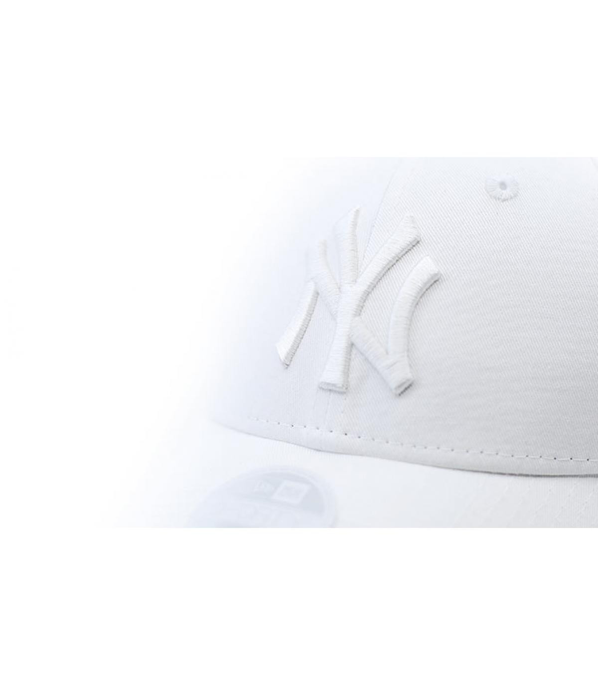 Details Casquette Wmns League Ess NY white - Abbildung 3