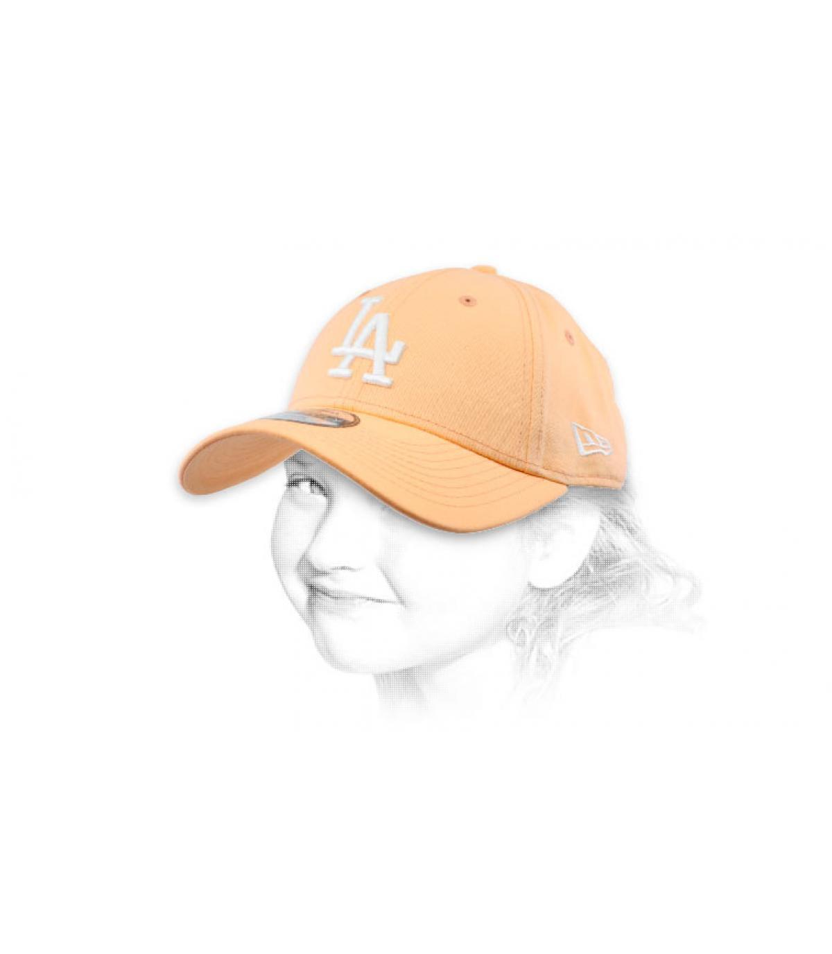Kinder Baseball Cap LA rosa
