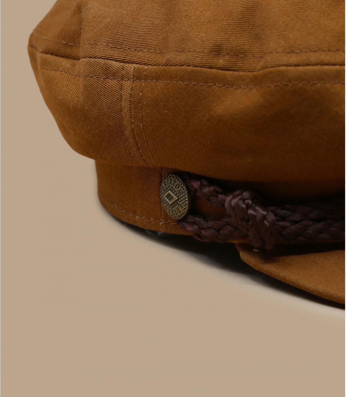 Elbsegler Mütze beige Brixton