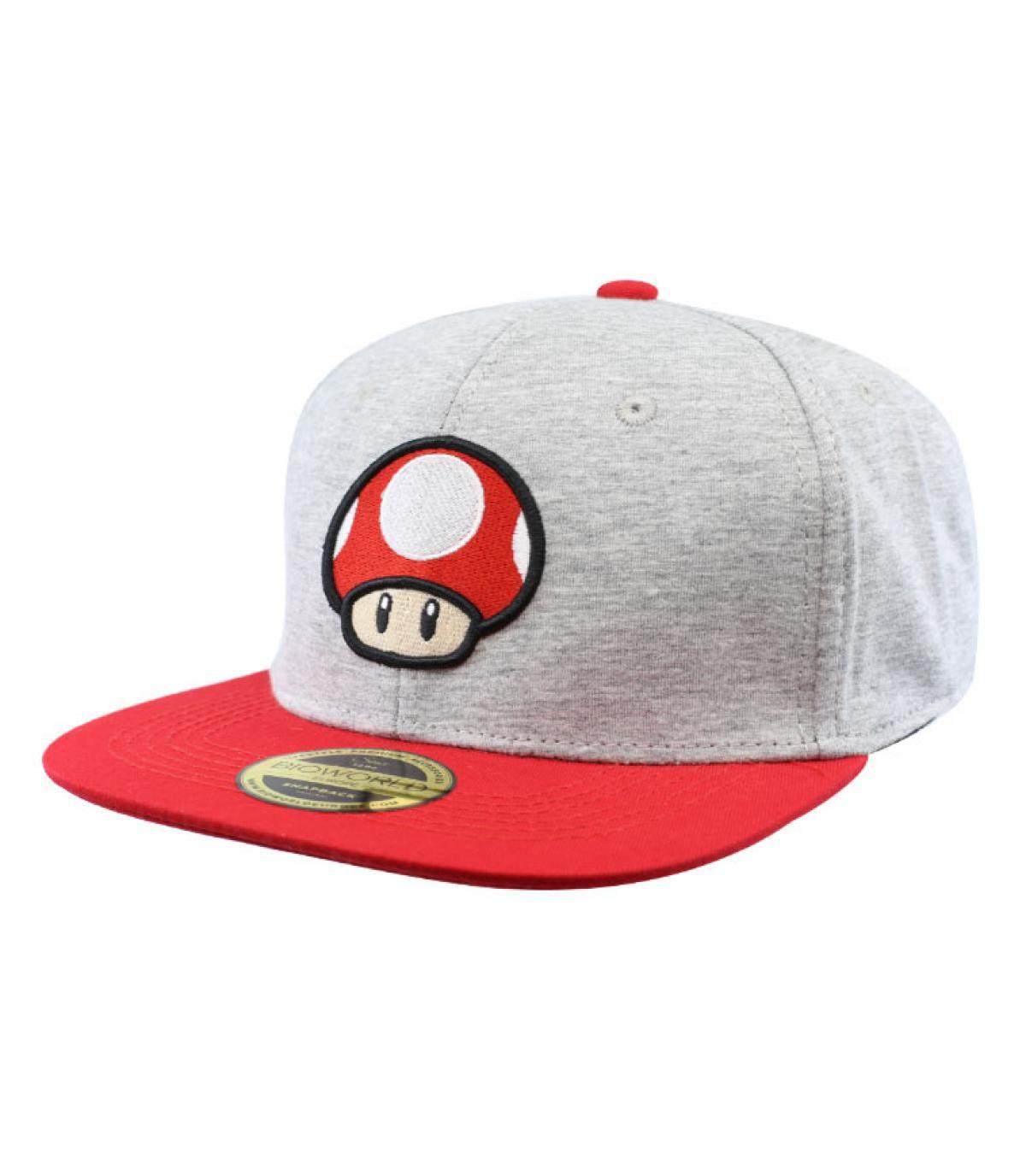 Snapback Fliegenpilz Mario