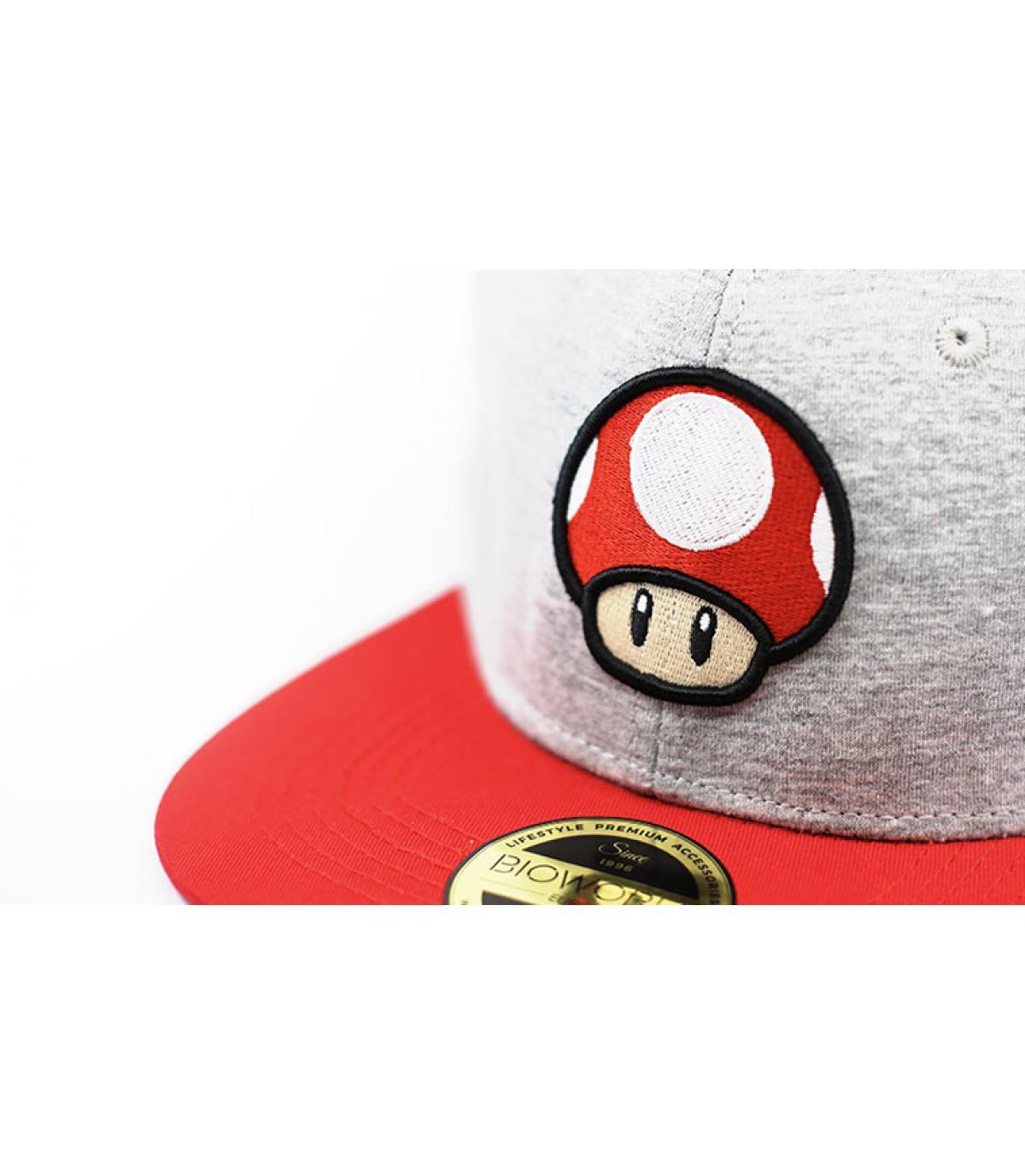 Details Snapback Mushroom Nintendo - Abbildung 3
