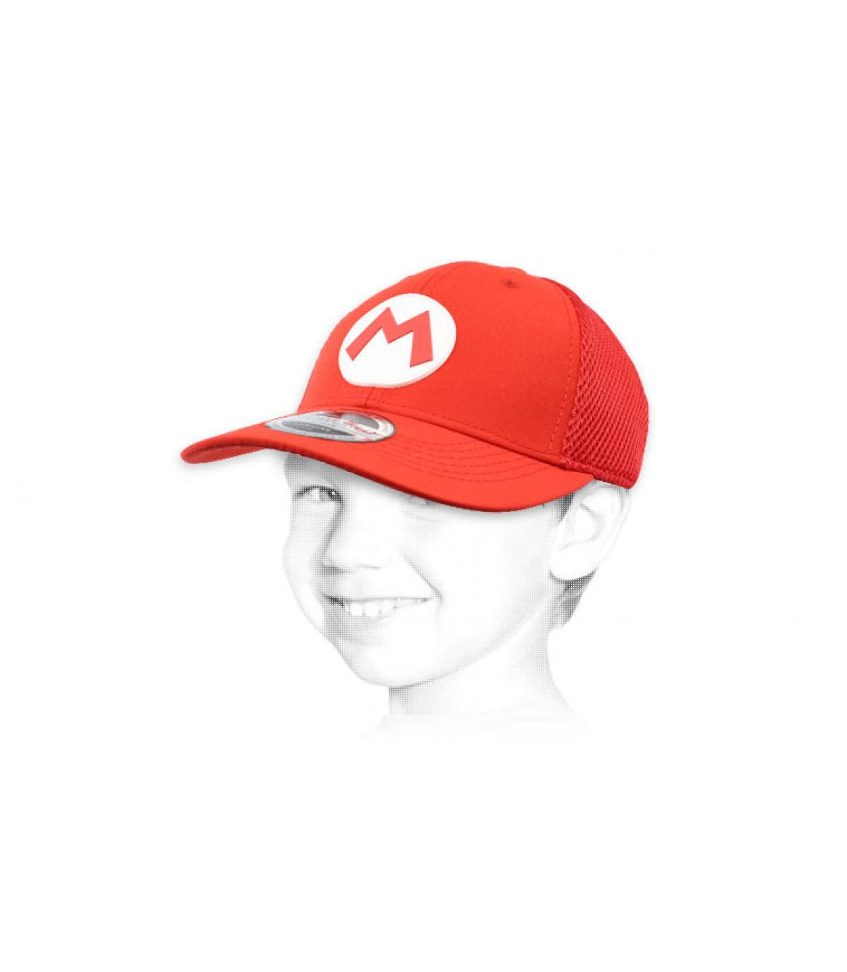 Kinder Cap Mario