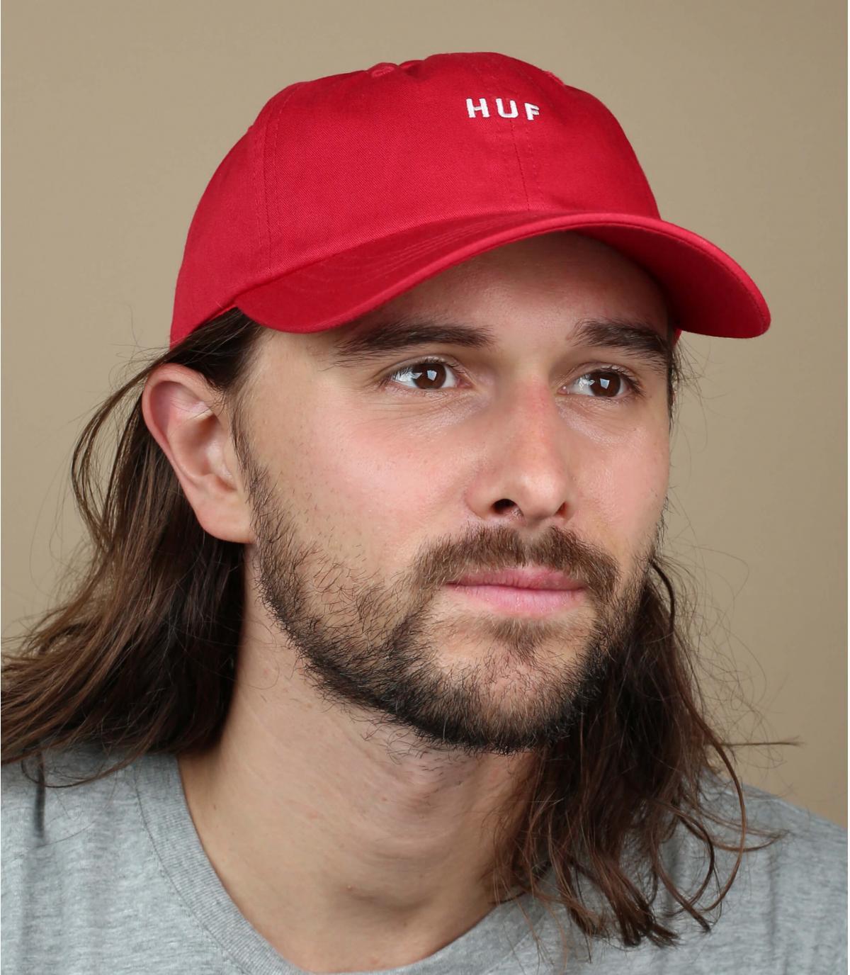 Rote Huf Cap