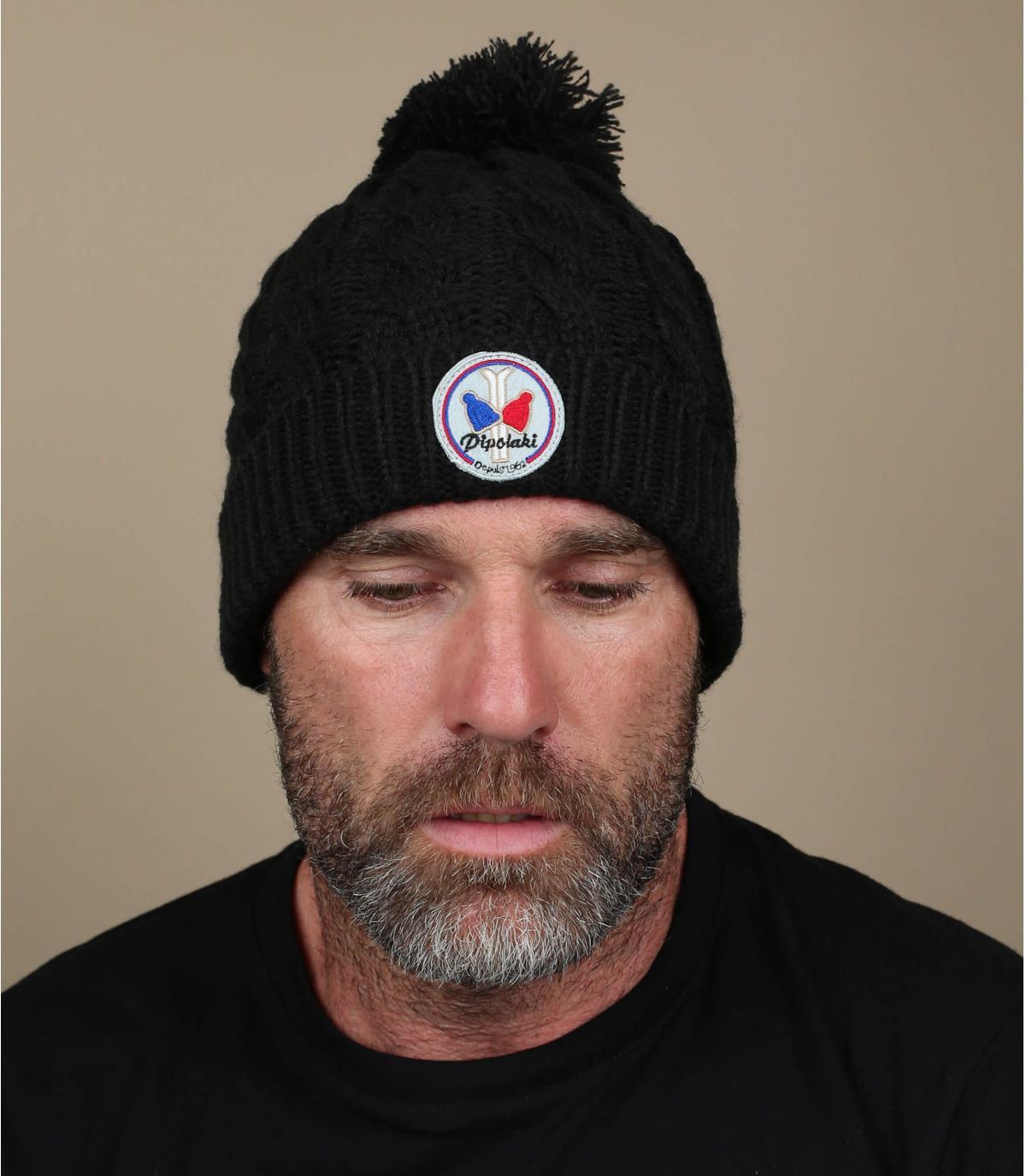 Mütze gstaad schwarz