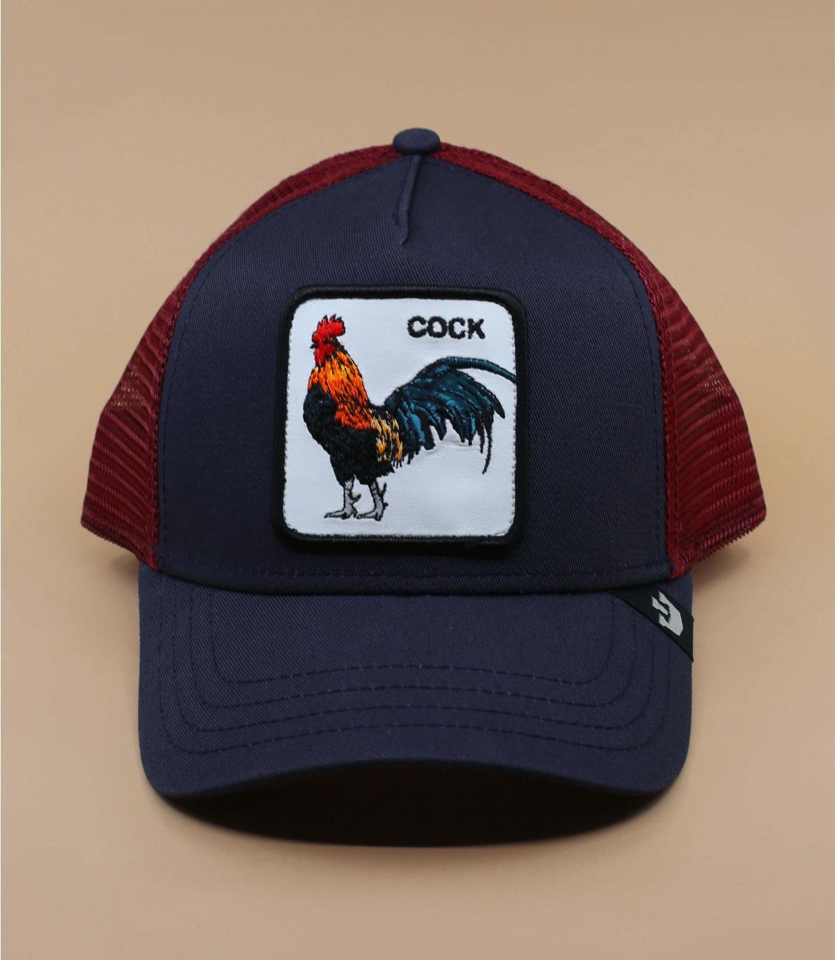 Trucker coq Goorin blau