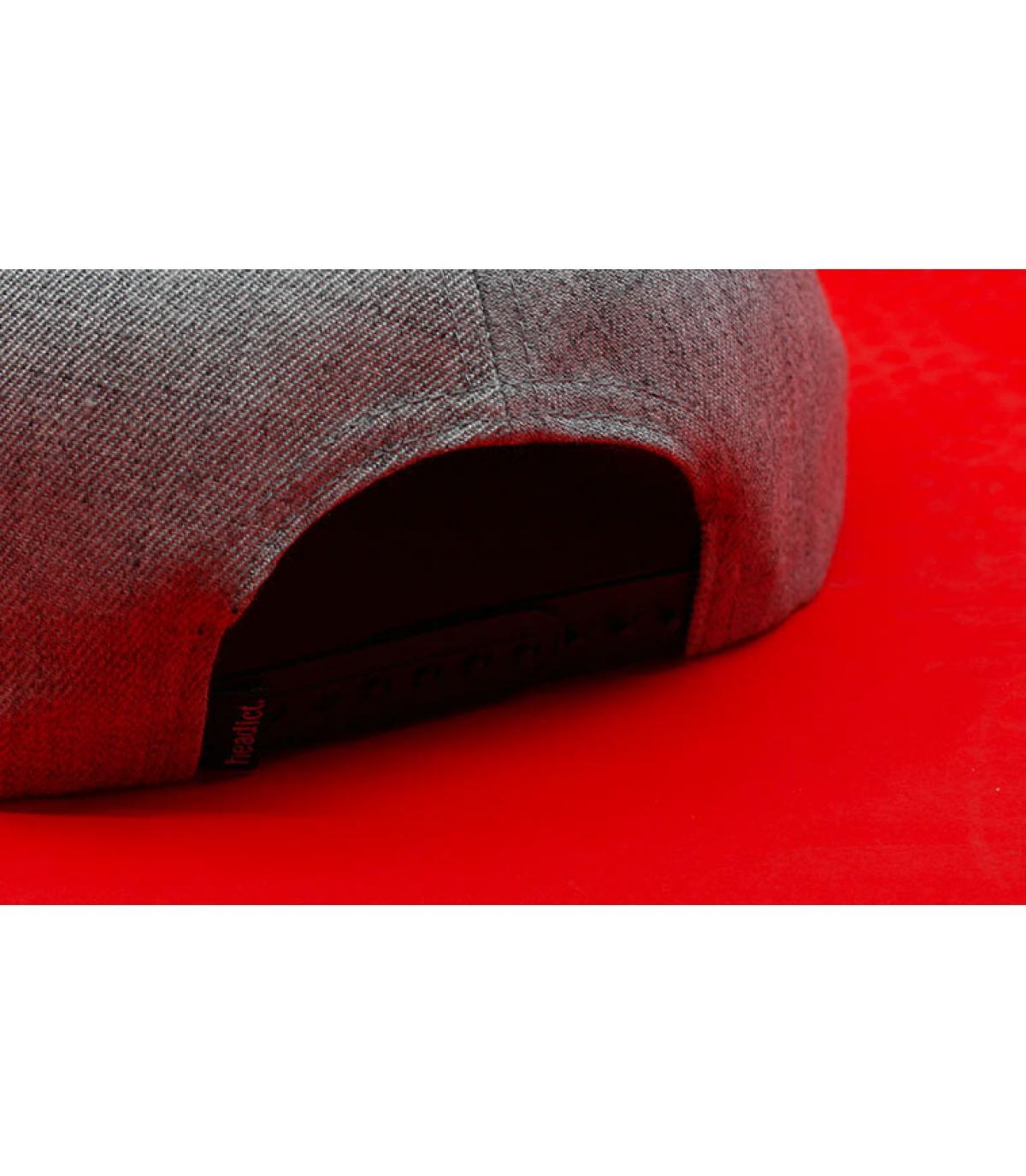 Details Snapback Adler schwarz rot gold - Abbildung 6