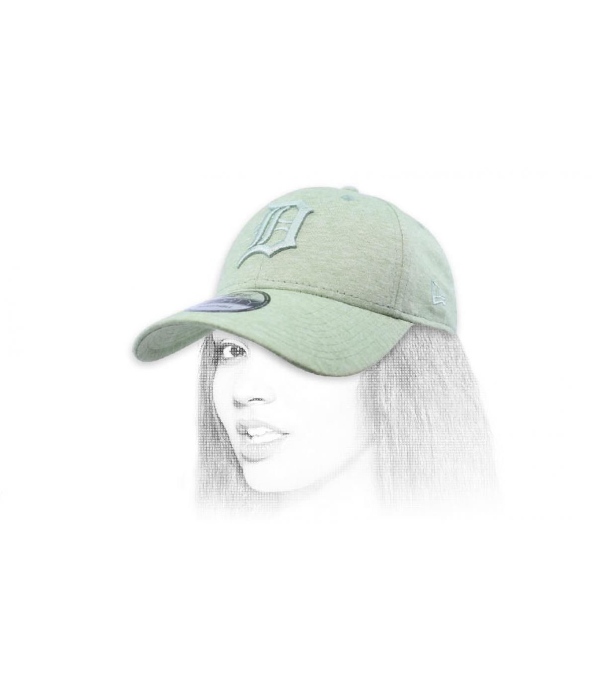 Cap D hellgrün