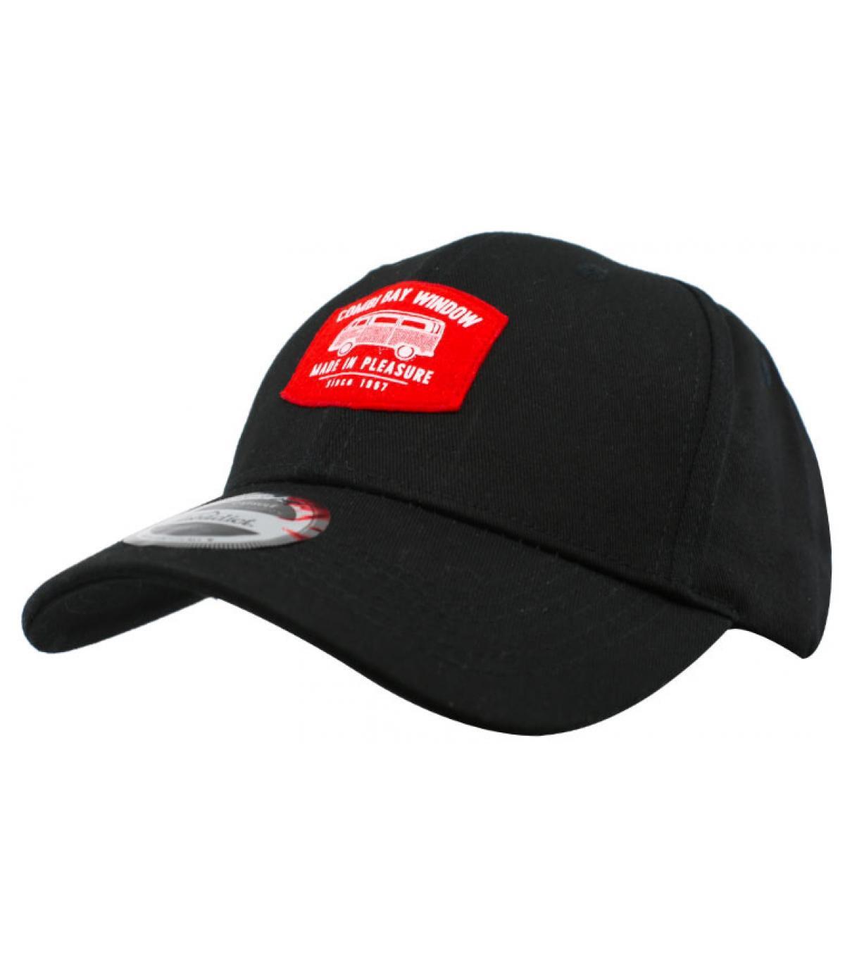 Cap Van schwarz