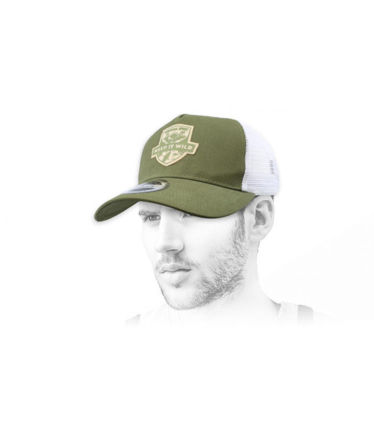 Trucker grün Wild