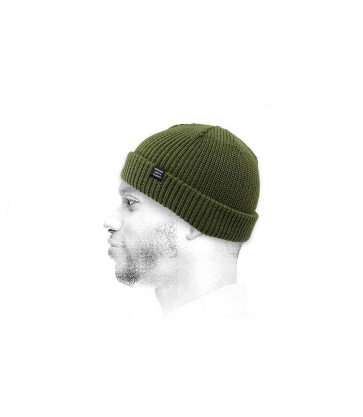Docker Mütze grün Herschel