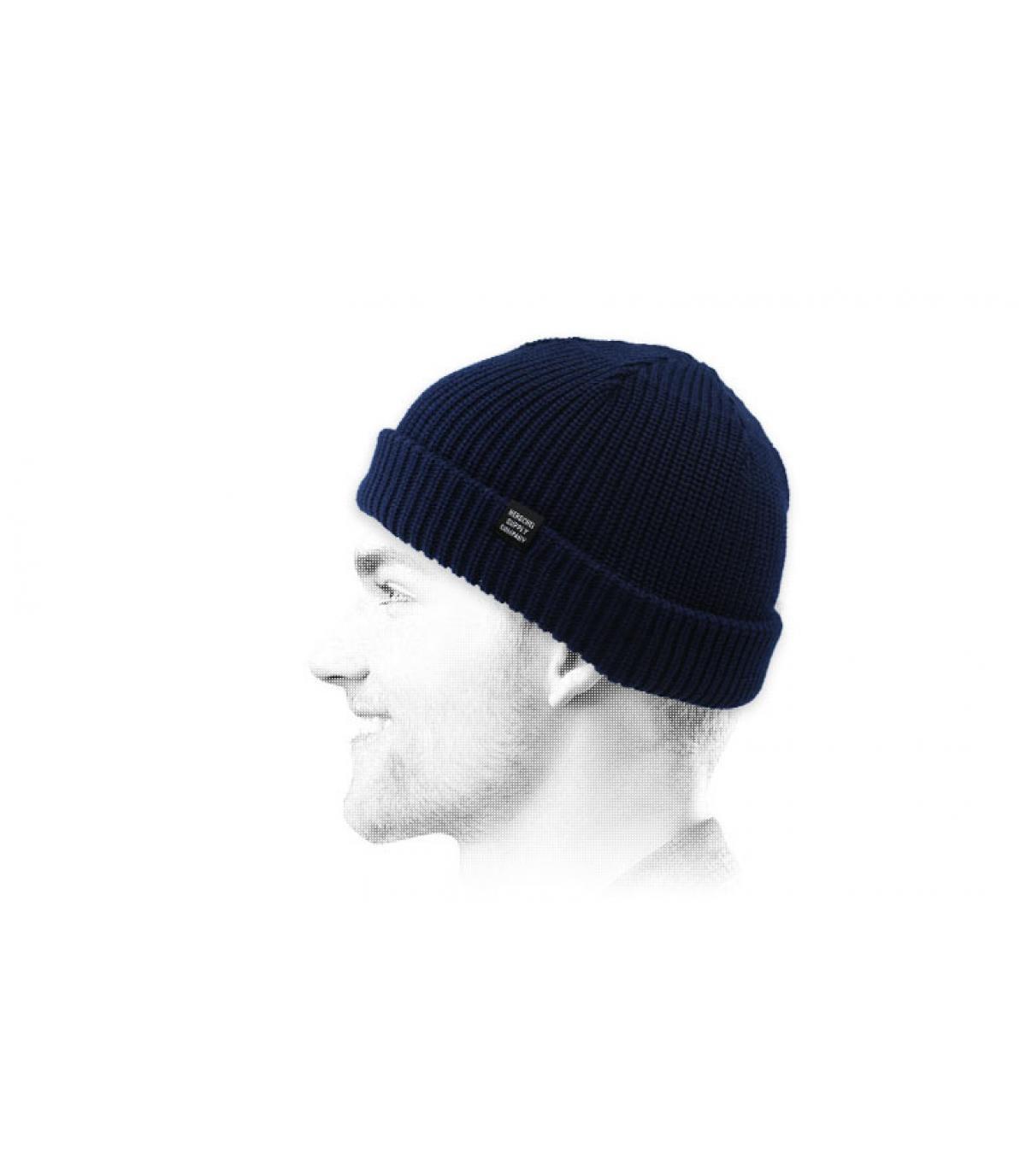 Docker Mütze blau Herschel