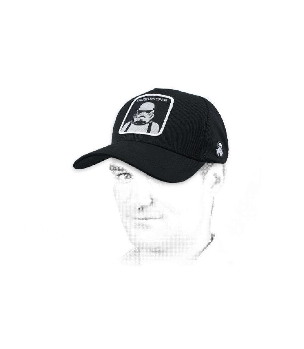 Cap Stormtrooper schwarz