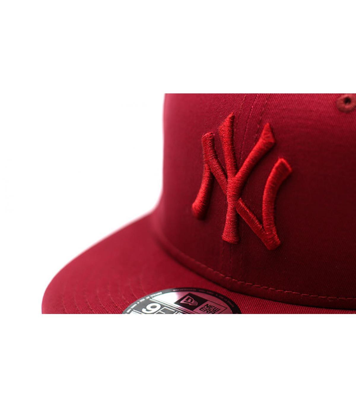 Details Snapback League Ess 9Fifty NY cardinal - Abbildung 3