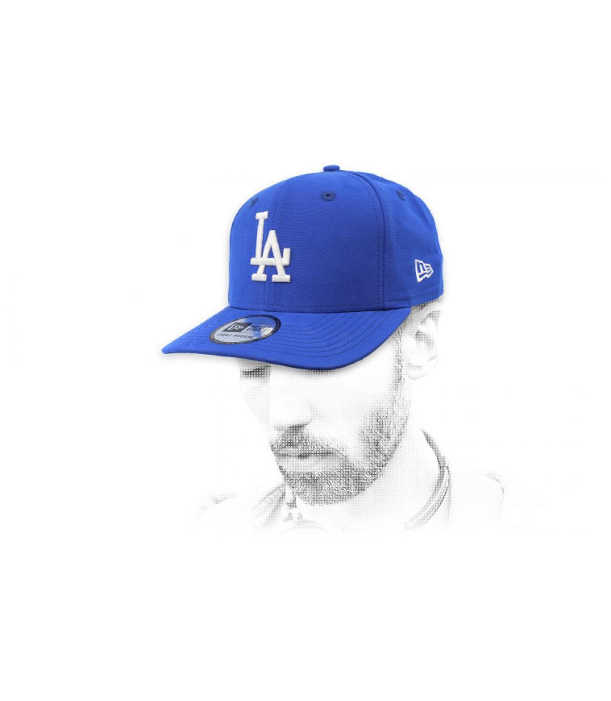 Cap LA blau wasserabweisend