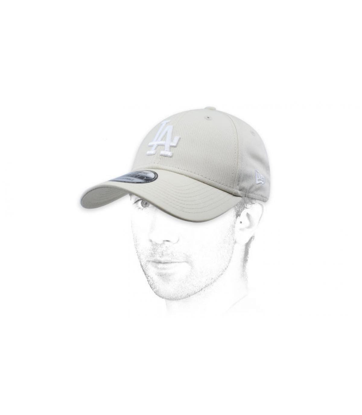 Cap LA weiß
