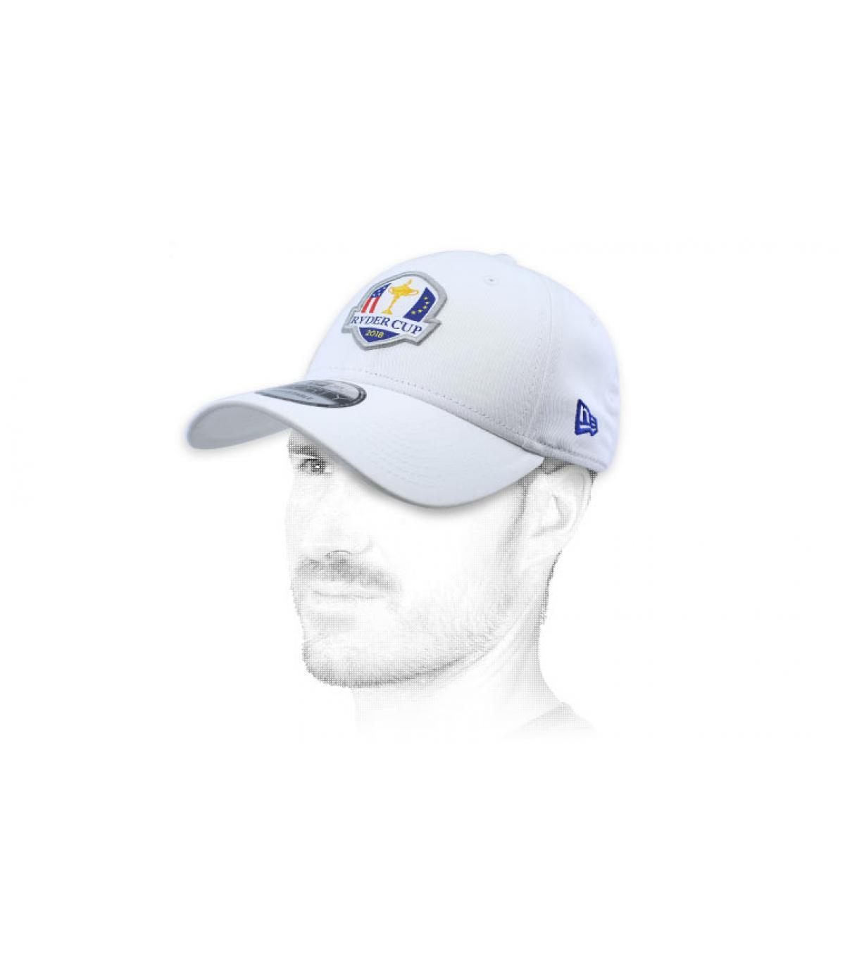 Cap golf Ryder Cup weiß