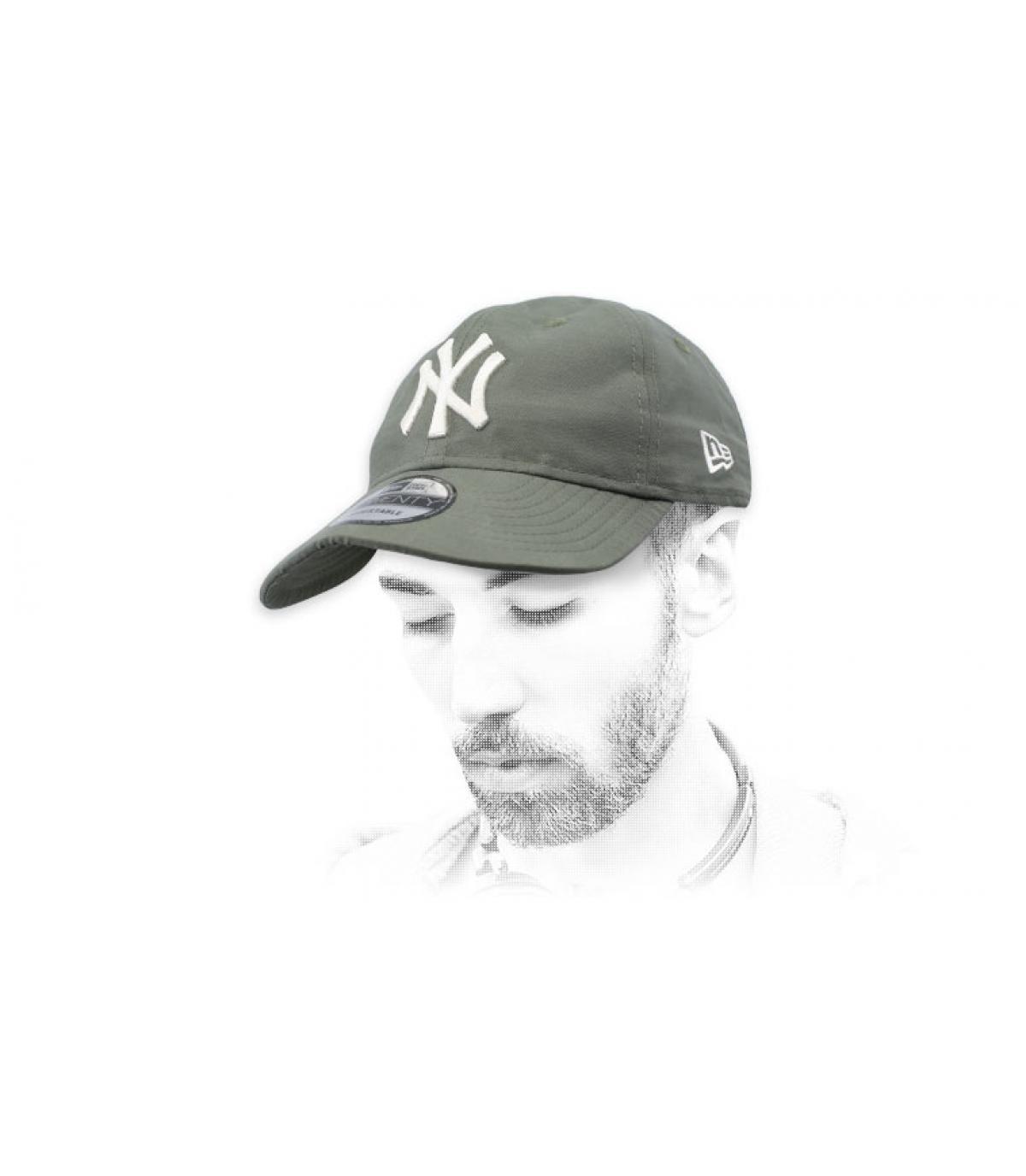 Cap NY klappbar grün