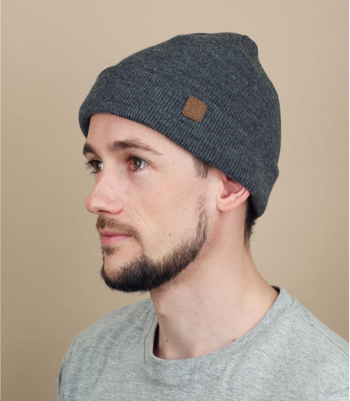 Docker Mütze grau