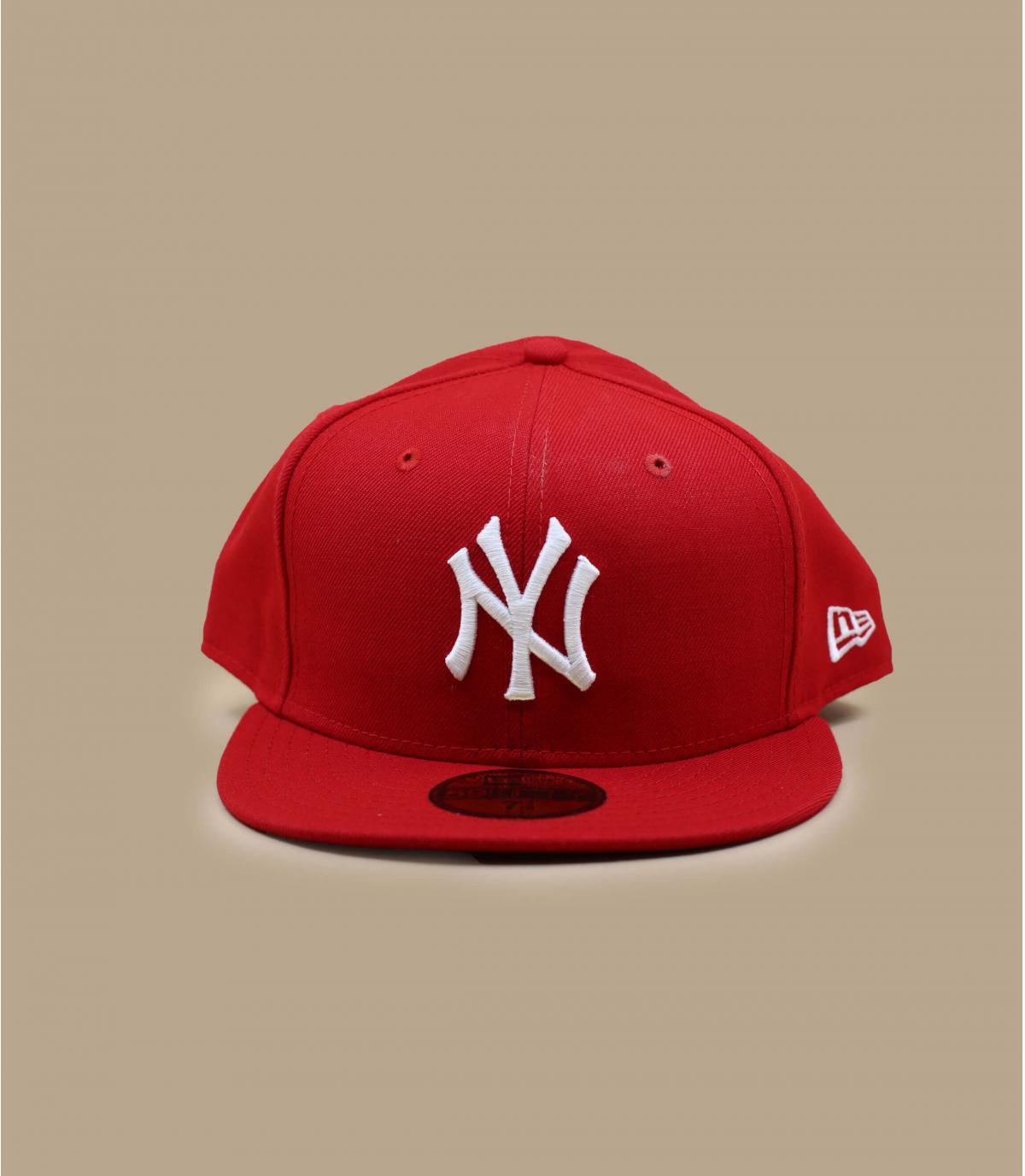 Rote New York Cap