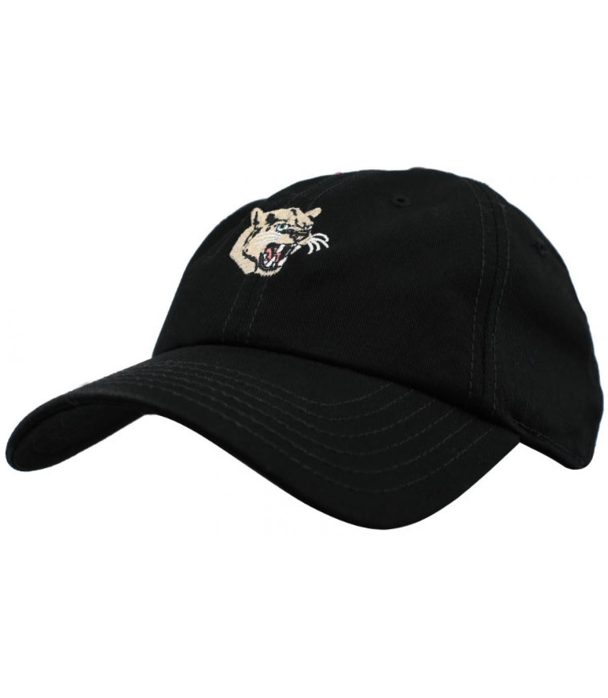 Cap Panther schwarz Wemoto