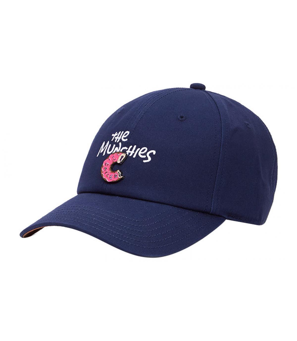 Cap Donut blau
