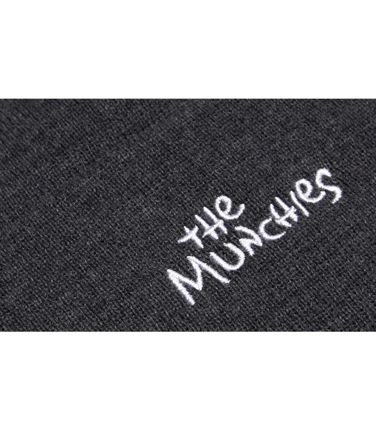 Details Los Munchos Beanie grey - Abbildung 5