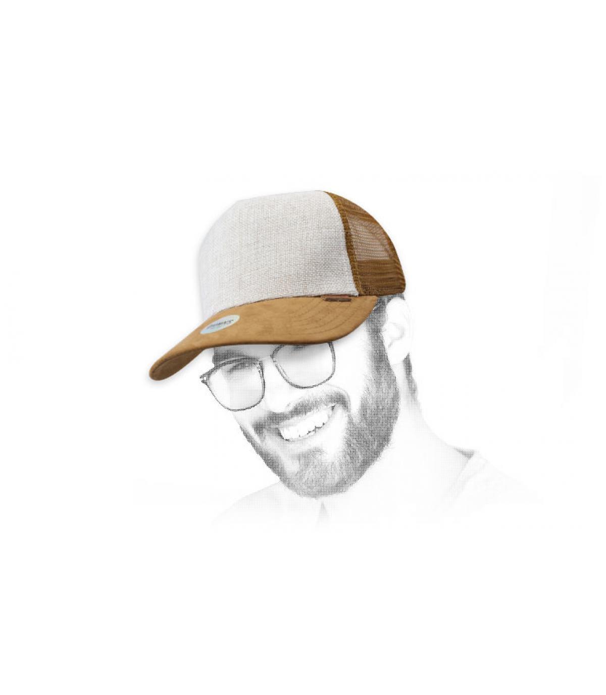 Trucker beige suede Djinns