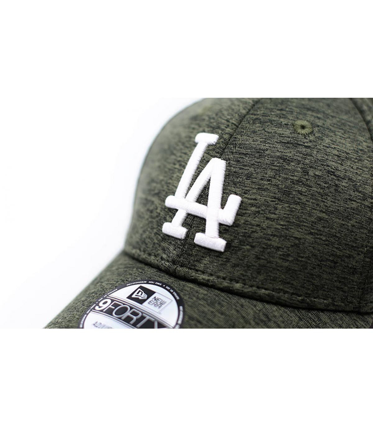 Details Cap LA Dryswitch Jersey 9Forty olive white - Abbildung 3