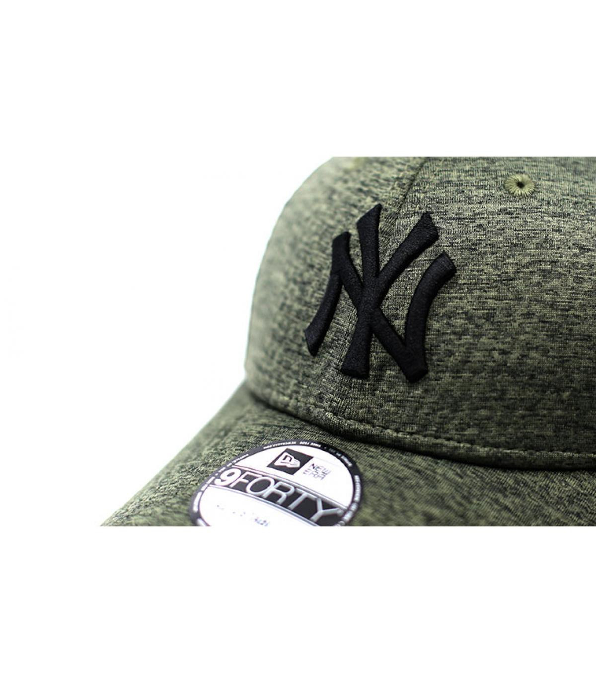 Details Cap NY Dryswitch Jersey 9Forty olive black - Abbildung 3